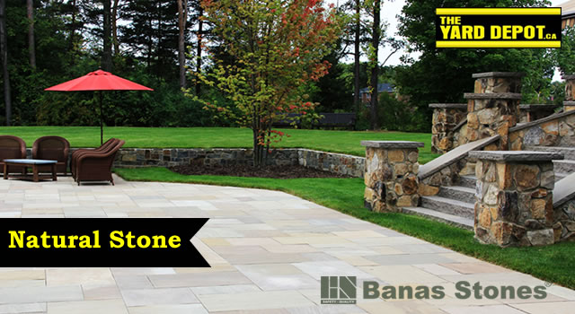 Natural Stone Suppliers in Durham Region Ajax, Pickering, Whitby, Oshawa, Bowmanville